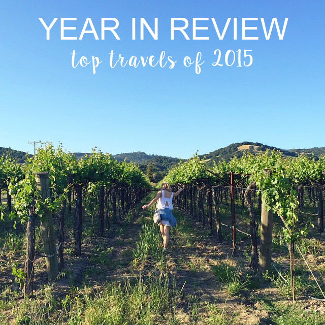 YEAR IN REVIEW 2015: TRAVEL.