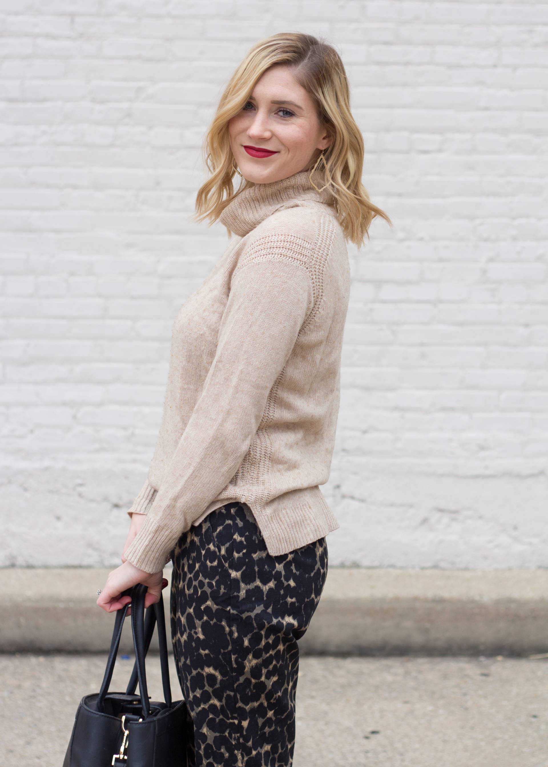 How to Wear Leopard in the Office