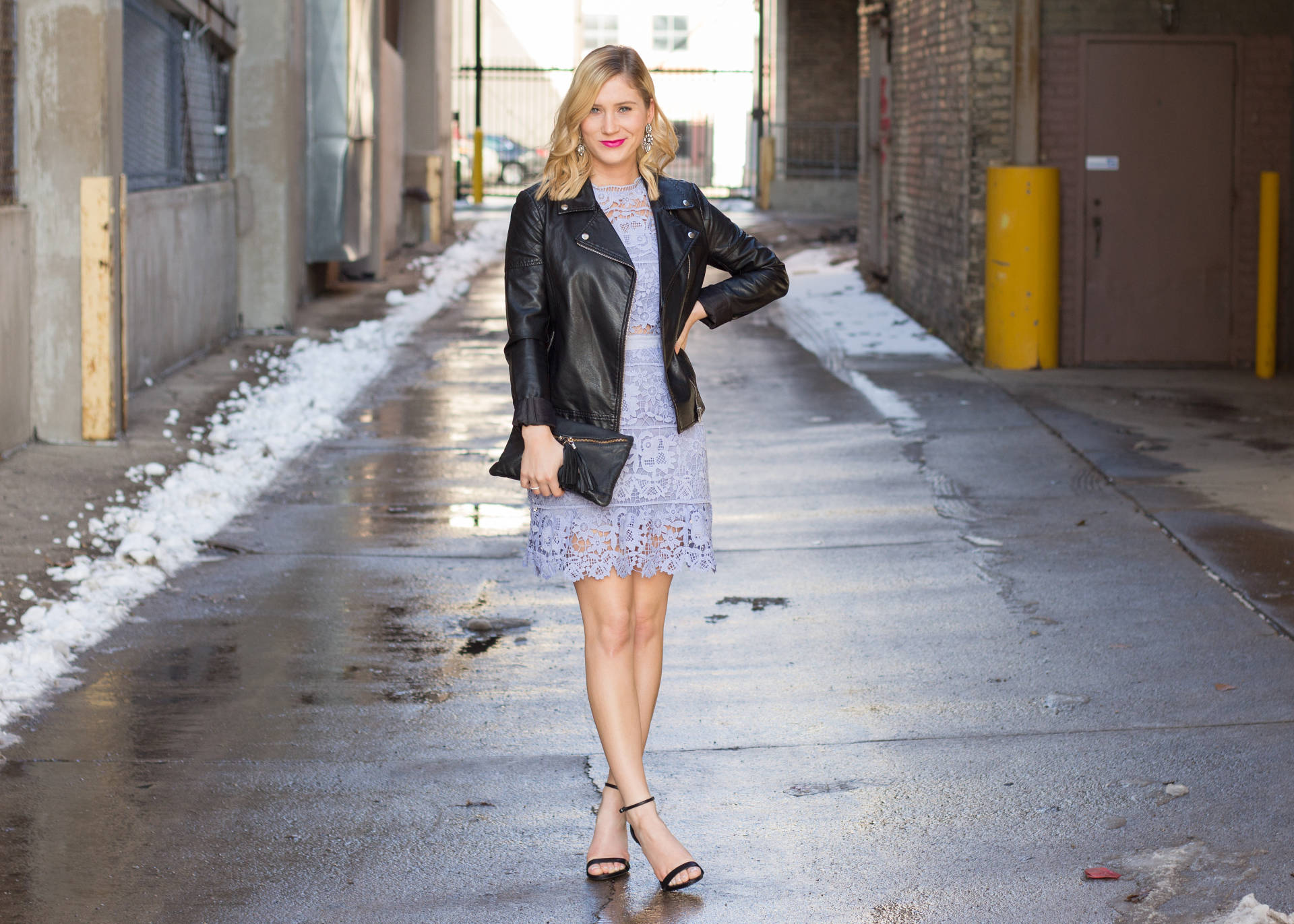 How to Wear Spring Dresses in the Cold | www.goldhattedlover.com