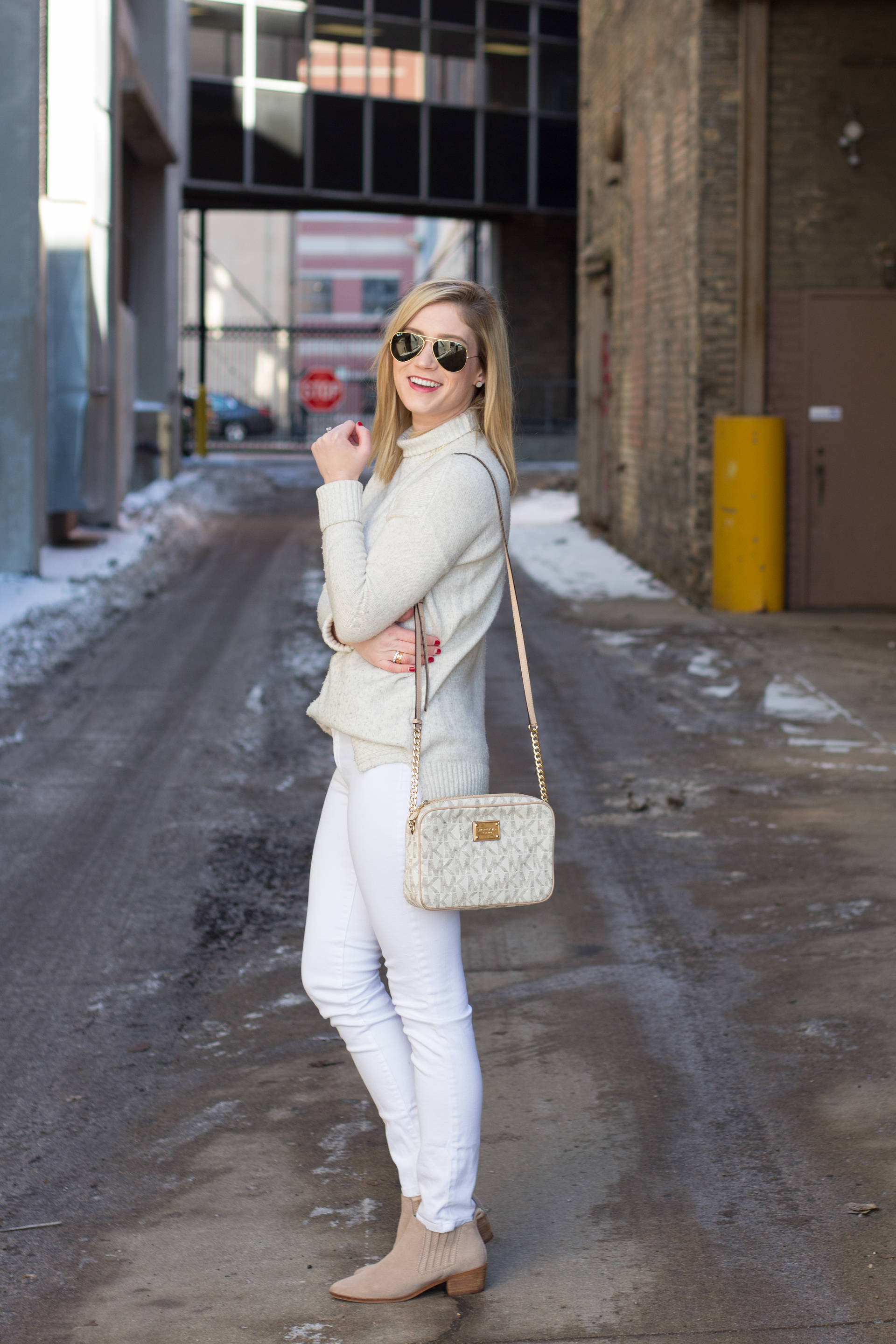 How to Rock White on White in the Winter