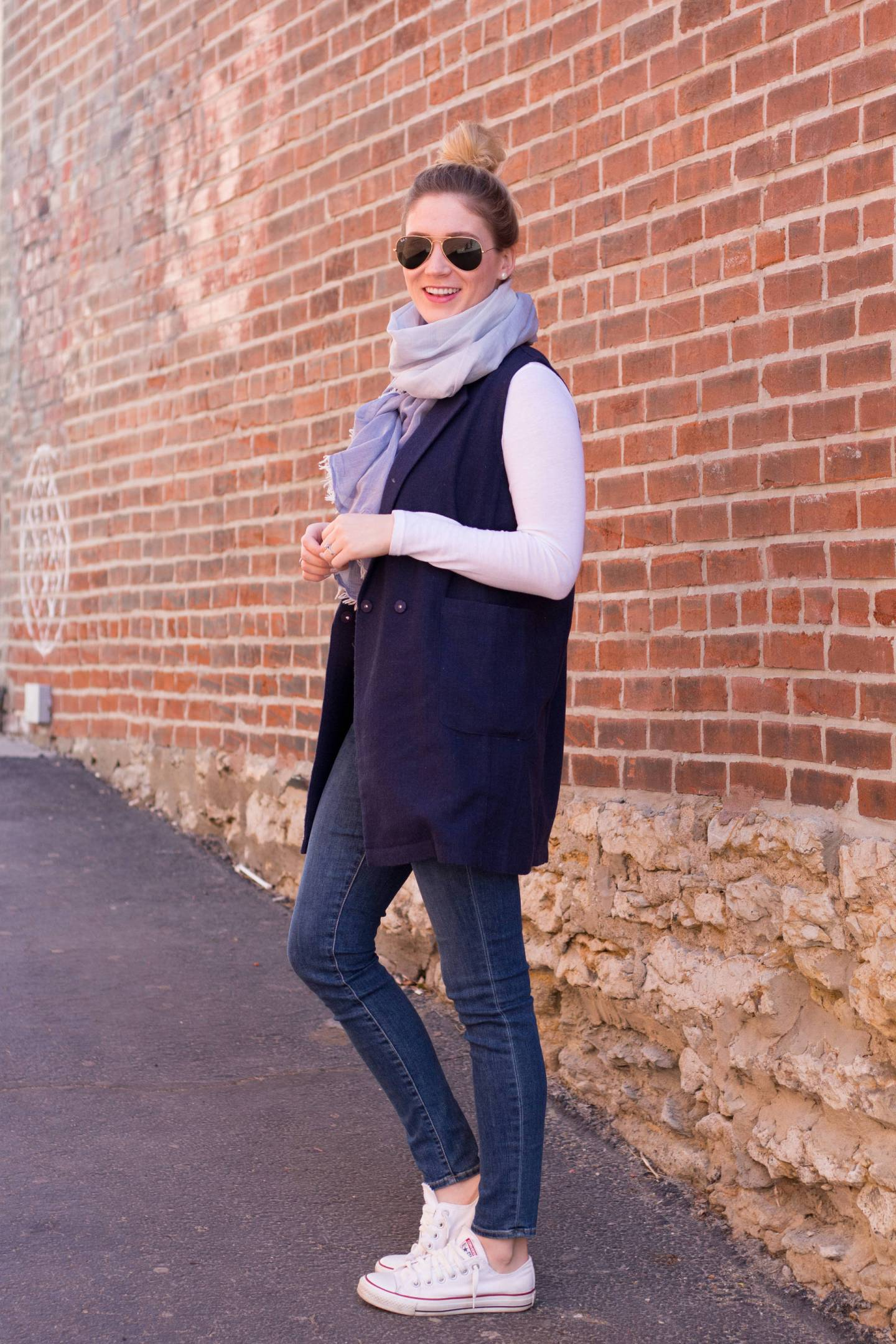 Trench Vest | Gold-Hatted Lover