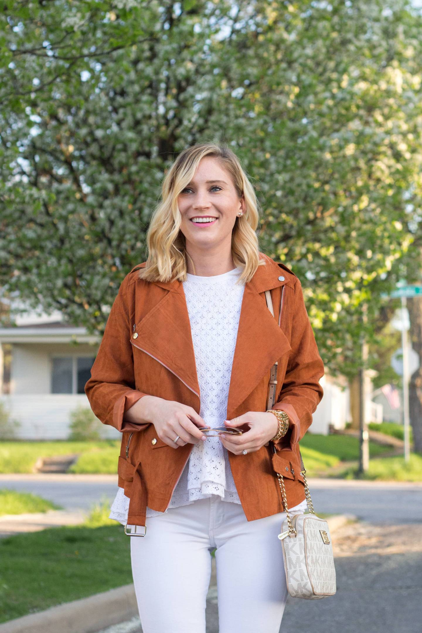 $30 Faux Suede Jacket   Gold-Hatted Lover