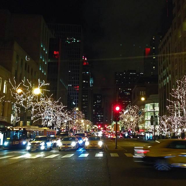 Michigan Avenue at Night Chicago