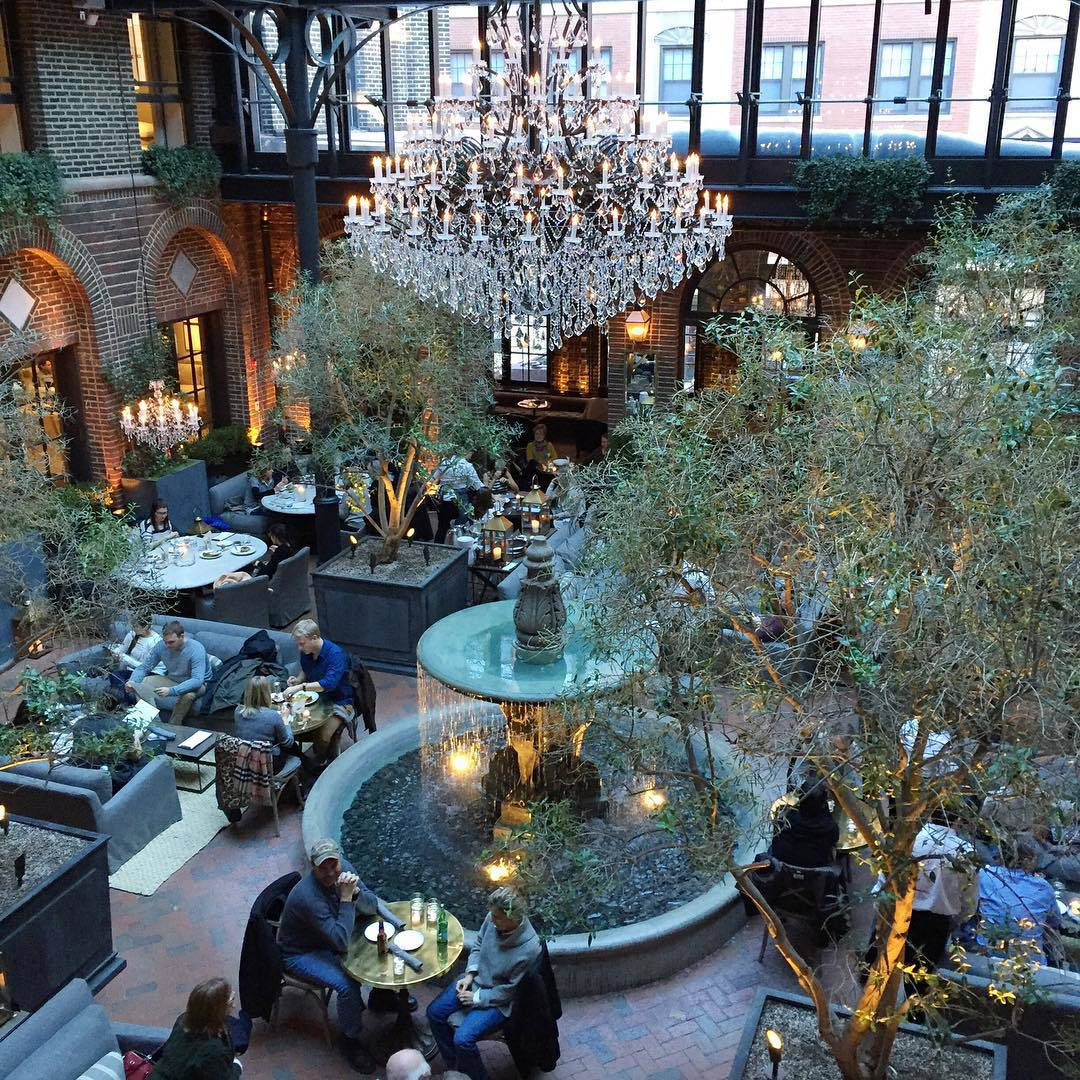 Restoration Hardware Chicago 3 Arts Club