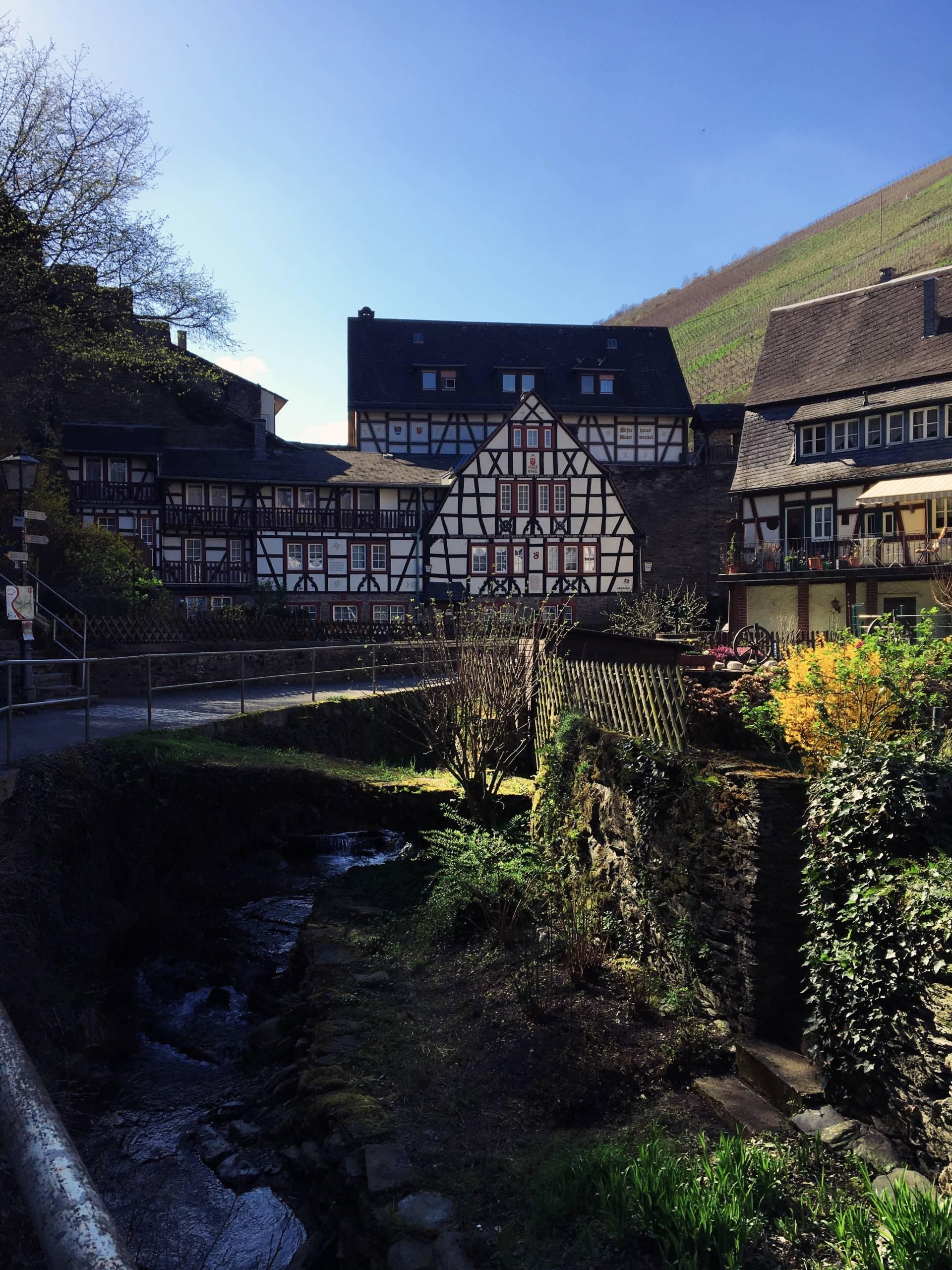 Fairytale Houses in St Goar Germany