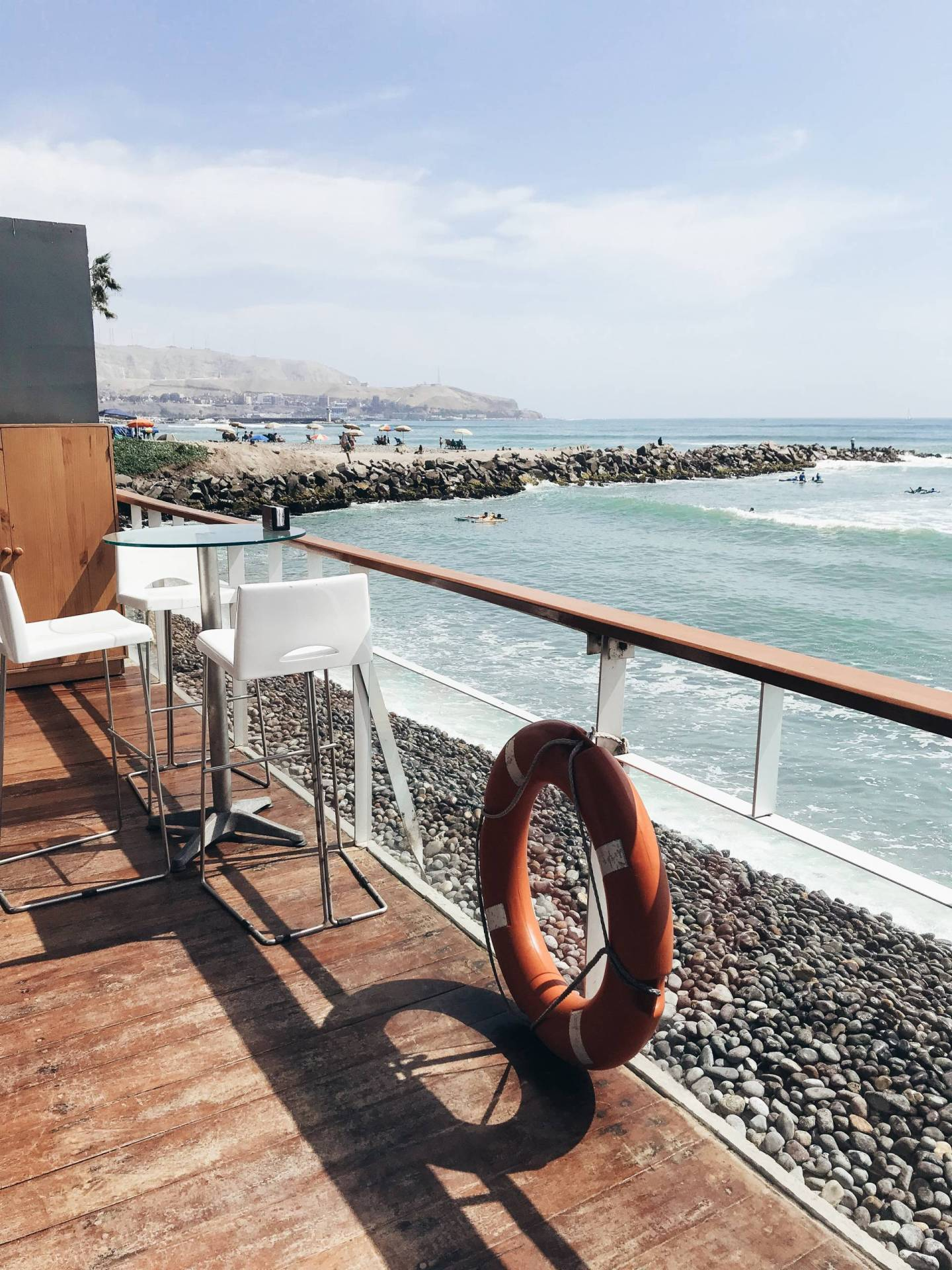 Drinks at CALA in Lima Peru