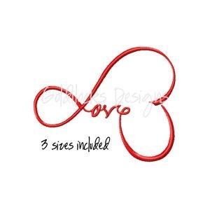 Love wedding valentine embroidery design