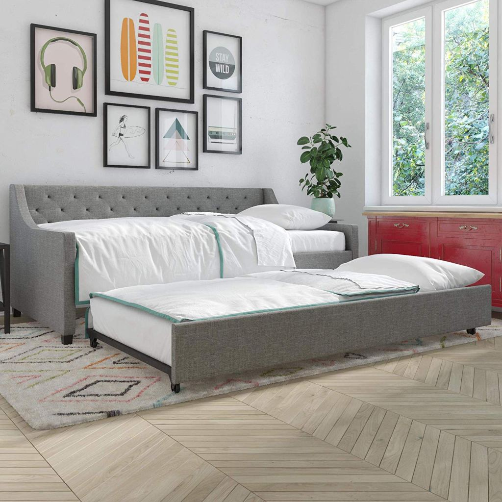 Trundle Daybed Grey - Tips to Improve your Airbnb Ranking - Goldilocks Effect