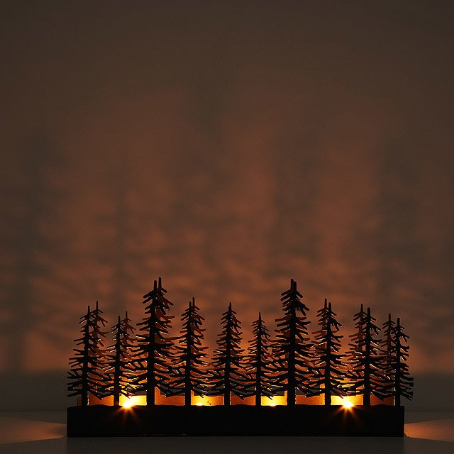 Nordic Tea Light Trough