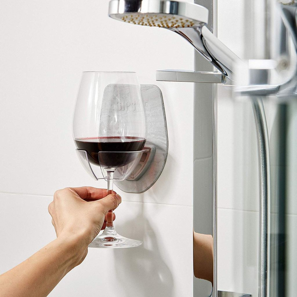 sipski suction wine holder