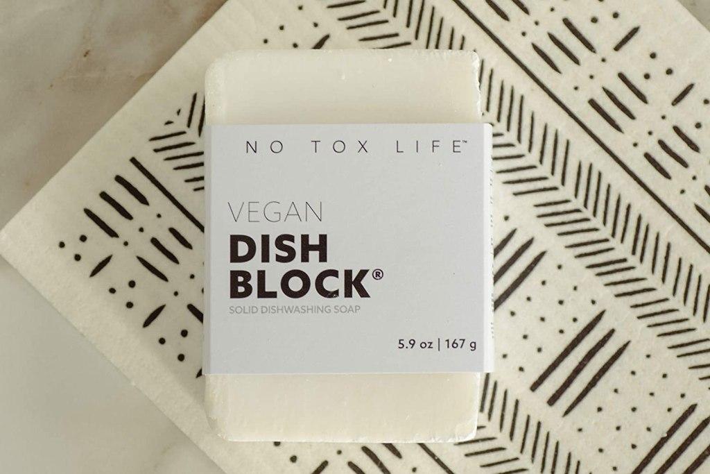 Low Tox Life Dishwashing Block - Eco-friendly Gifts