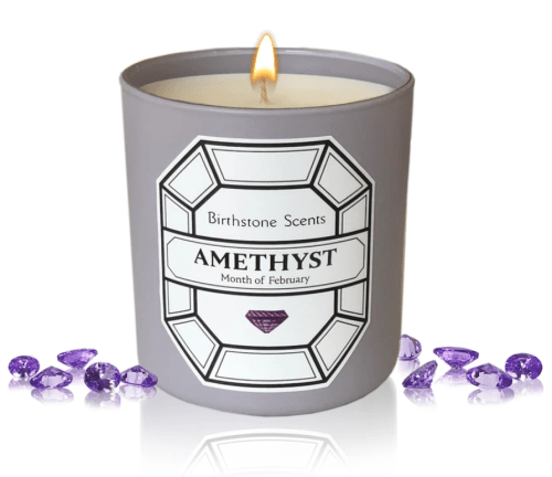 Birthstone Scents Candle - Amethyst