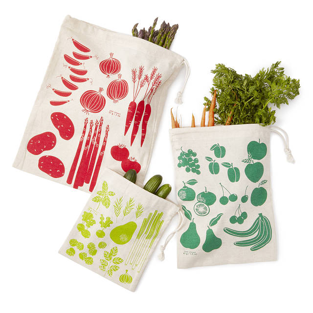 Plastic Free Produce Bags - Eco-Friendly Gifts | Low Waste Gift Ideas | Goldilocks Effect