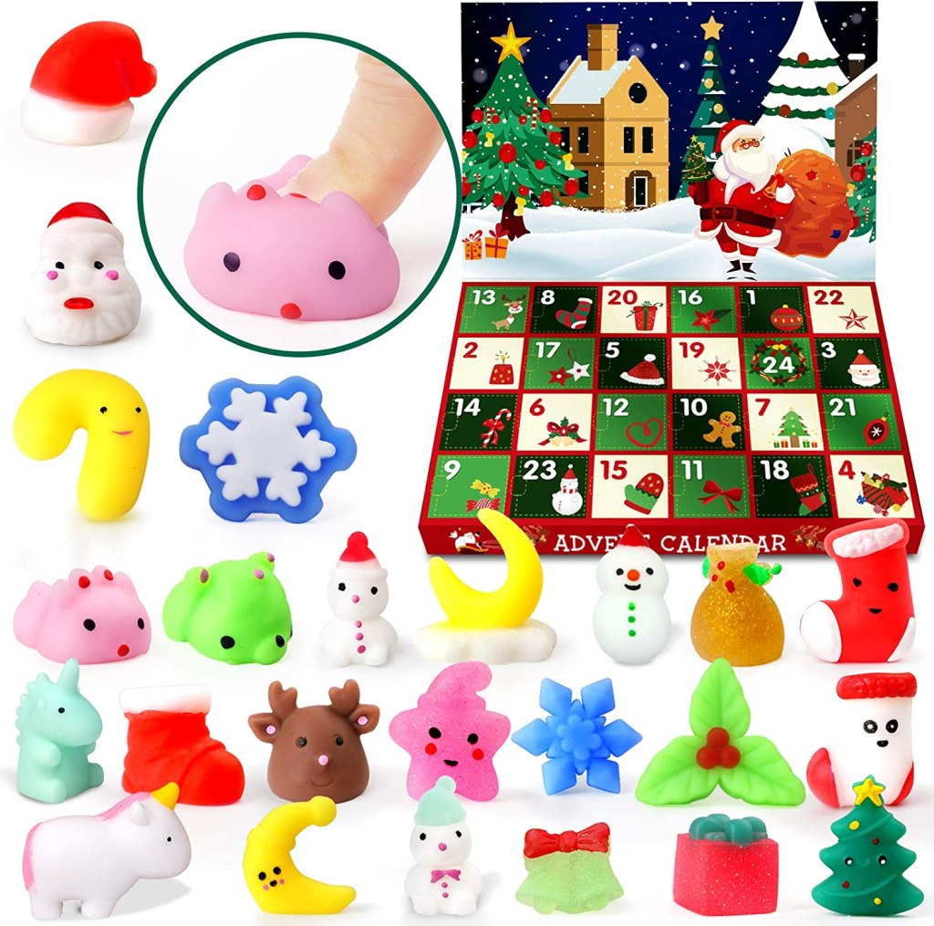 Mini Squishies advent Calendar