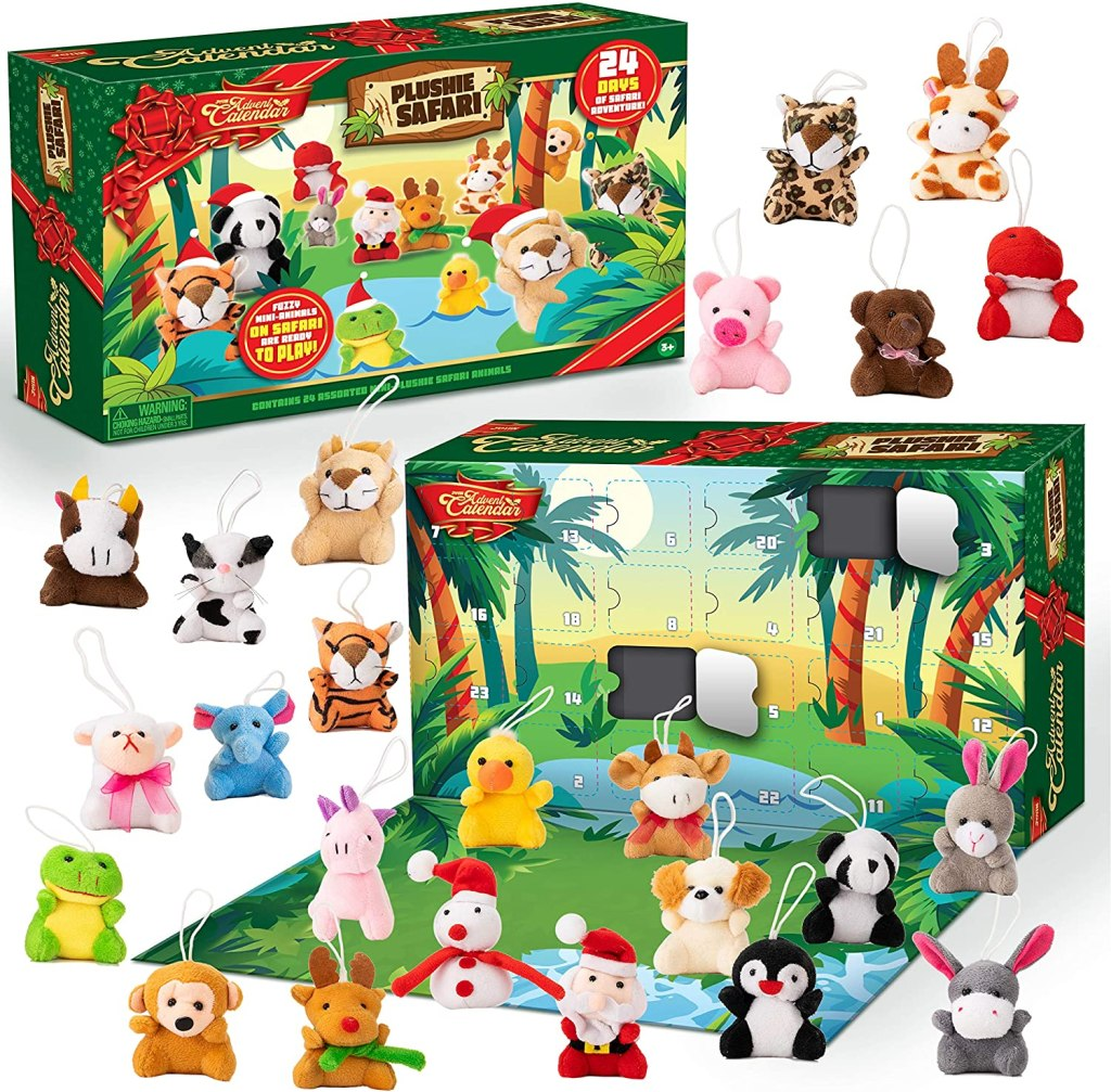 Mini Animal Plush Advent Calendar