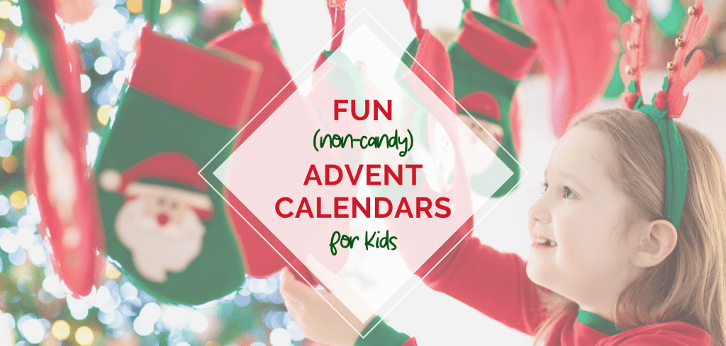 non-candy advent calendars for kids