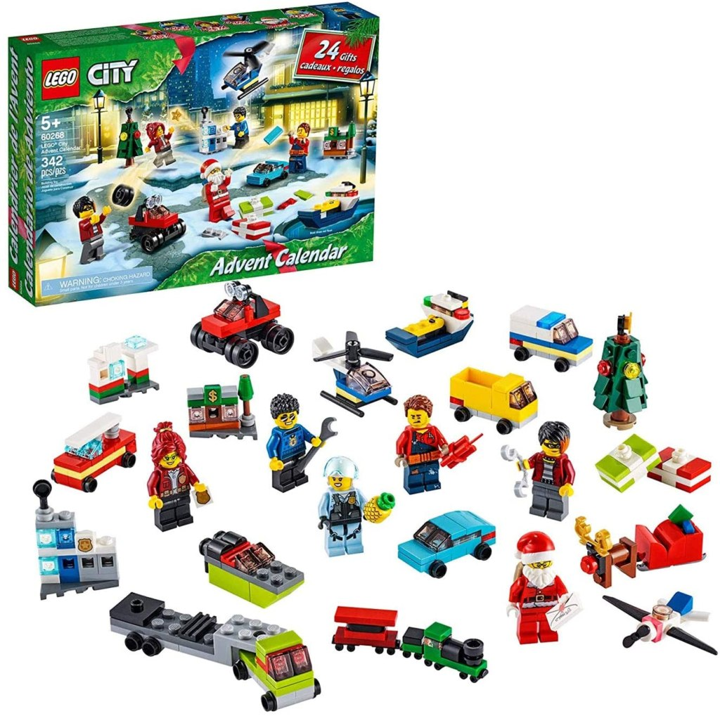 LEGO City Advent Calendar Playset