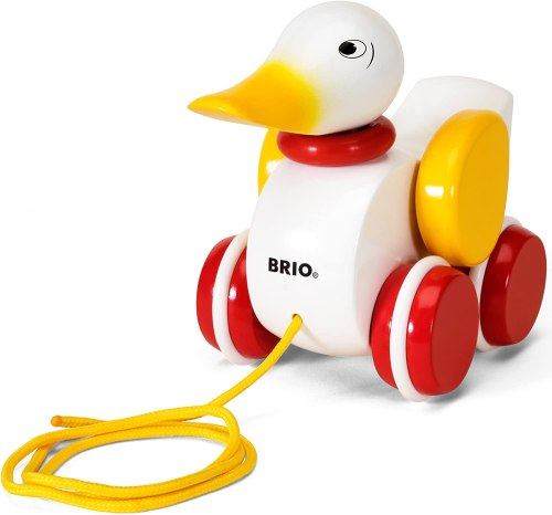 Pull Along Duck Baby Toy