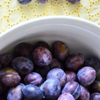 Spiced Plum Jam