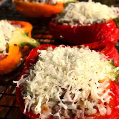 From the Freezer Stuffed Bell Peppers