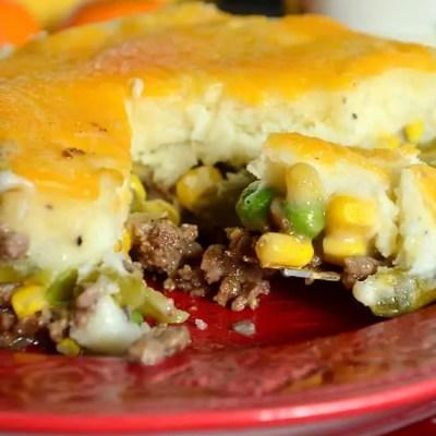 Savory Mushroom and Onion Shepherd's Pie