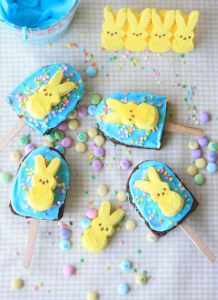 http://www.munchkinmunchies.com/2013/03/peeps-brownie-pops.html