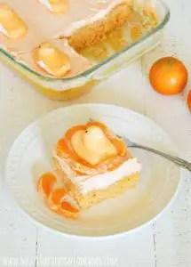 creamsicle orange peeps cake