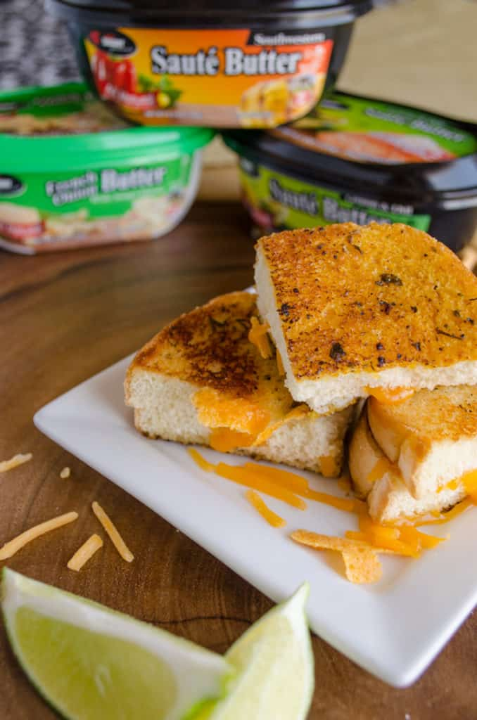 Chef Shamy Grilled Cheese Mini's
