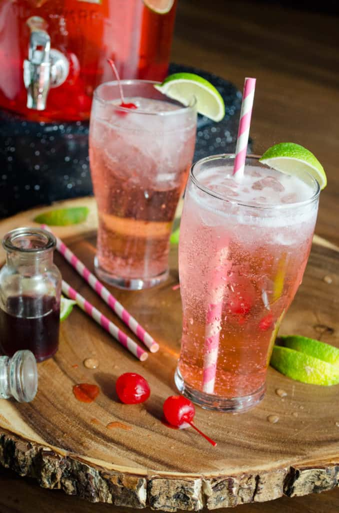 Old Fashioned Cherry Limeade