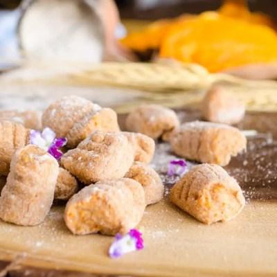 Whole Wheat Sweet Potato Gnocchi