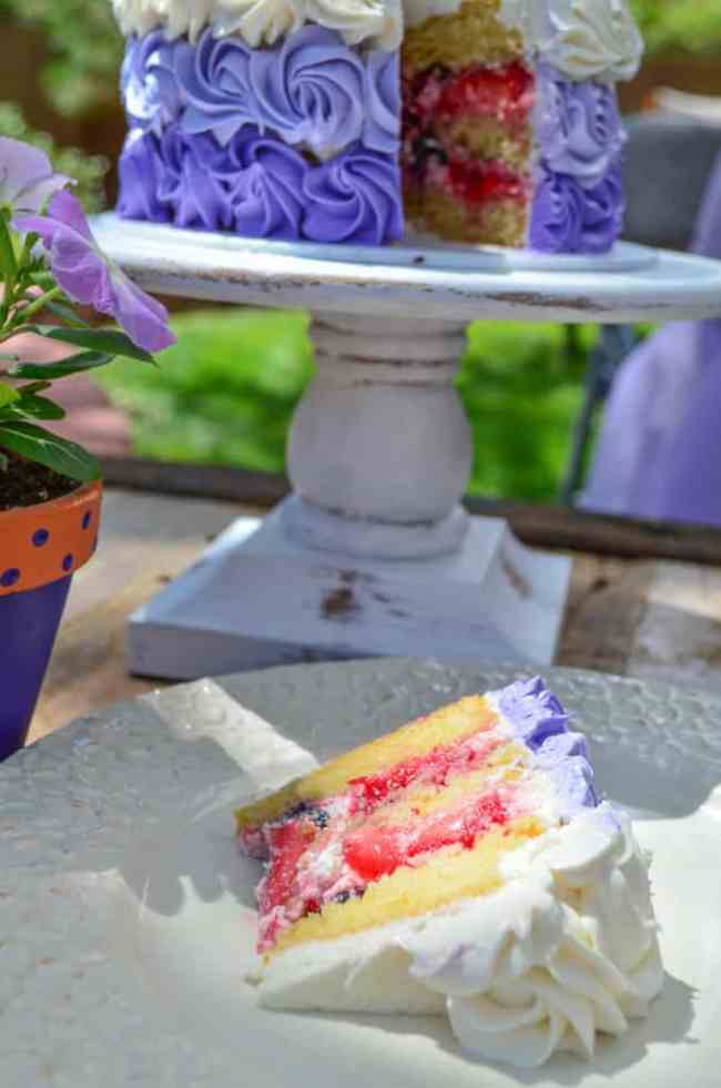 Berry Chantilly Cake and Cupcakes