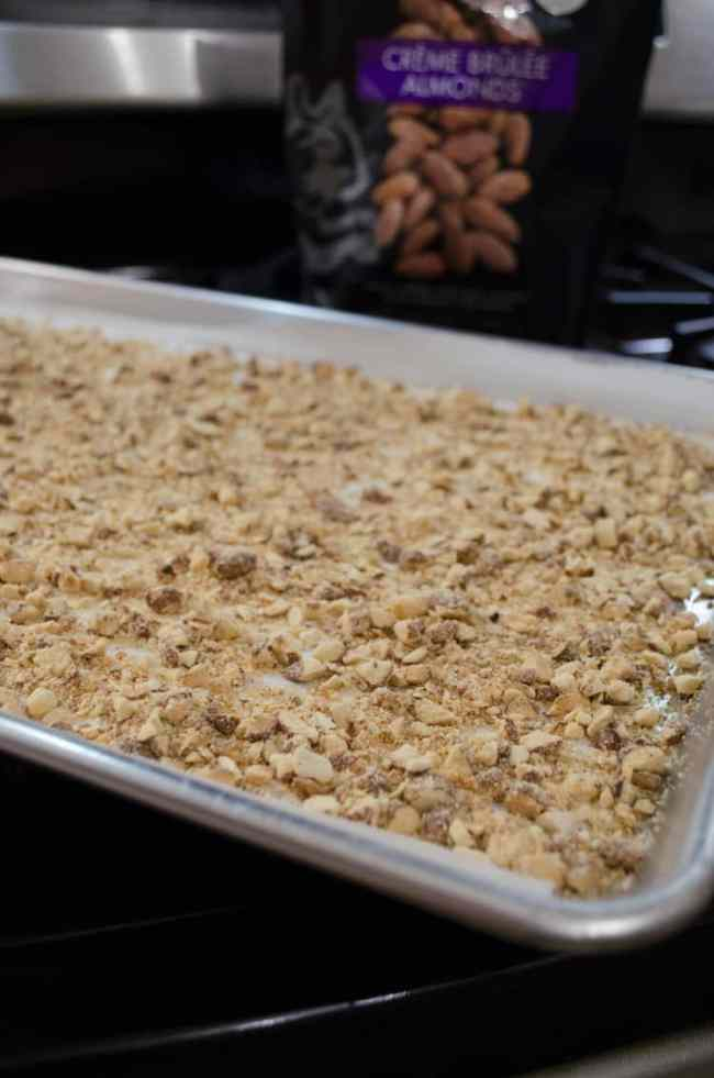 Homemade Almond Roca- The Goldilocks Kitchen
