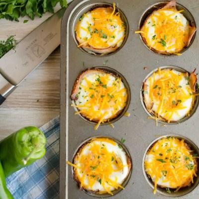 Green Chile Turkey Breakfast Cups