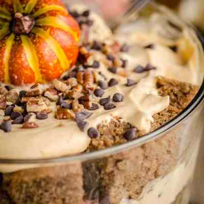 Pumpkin Spice Cheesecake Trifle