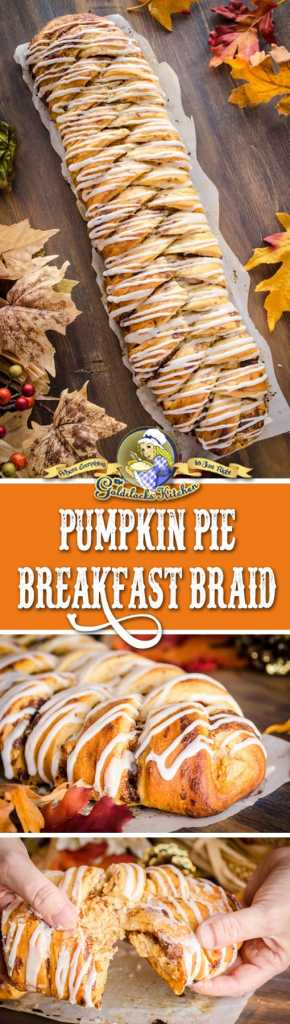 Sponsored by @Pillsburybaking This Pumpkin Pie Breakfast Braid is the easiest, prettiest, and tastiest breakfast pastry to make for a special holiday treat. It can be made the night before and placed in the oven in the morning for a beautiful start to a magical day!