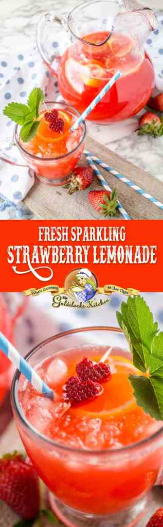 When you have a glass of fresh sparkling strawberry lemonade in your hand, all's right with the world. Made with fresh strawberries, lemons and your choice of sweetener. Ready in just 10 minutes.