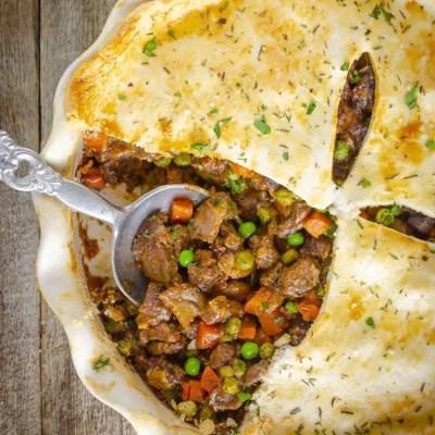 Savory Beef Pot Pie