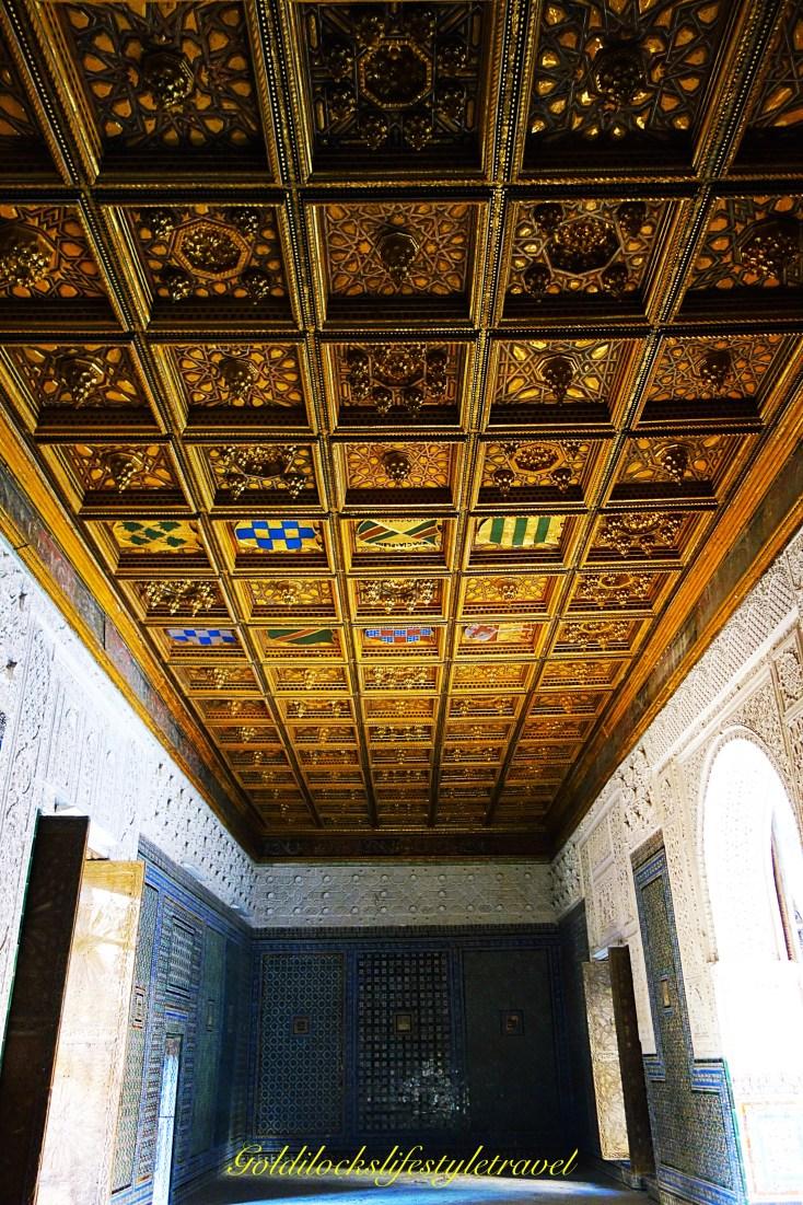 Casa de Pilatos ceiling