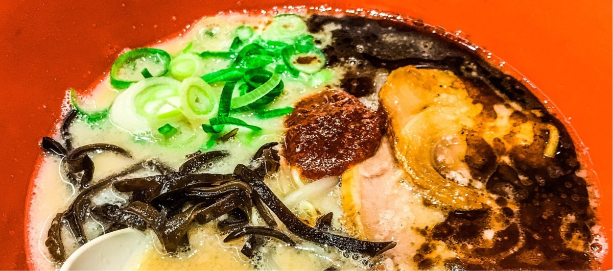 The mouthwatering Ippudo Ramen in Namba Osaka
