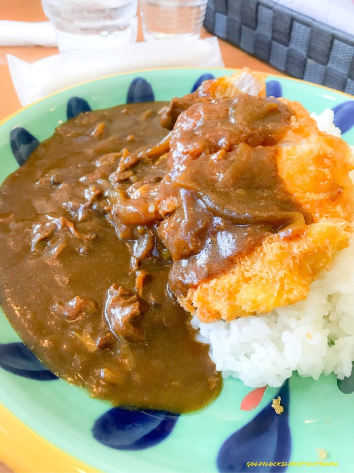 Curry rice at Star Isle restaurant, Osaka Museum of History