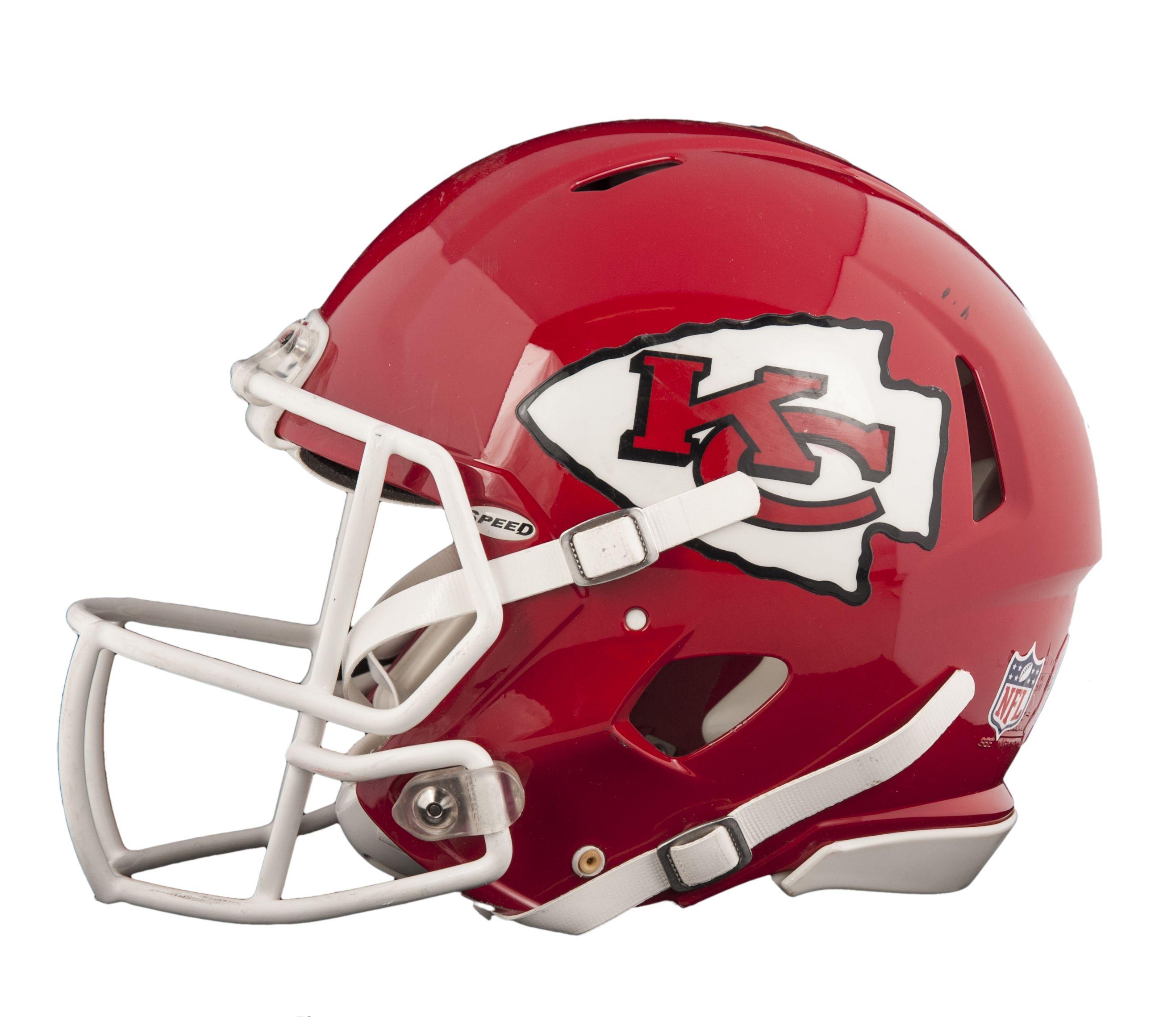 Kansas City Chiefs New Helmet