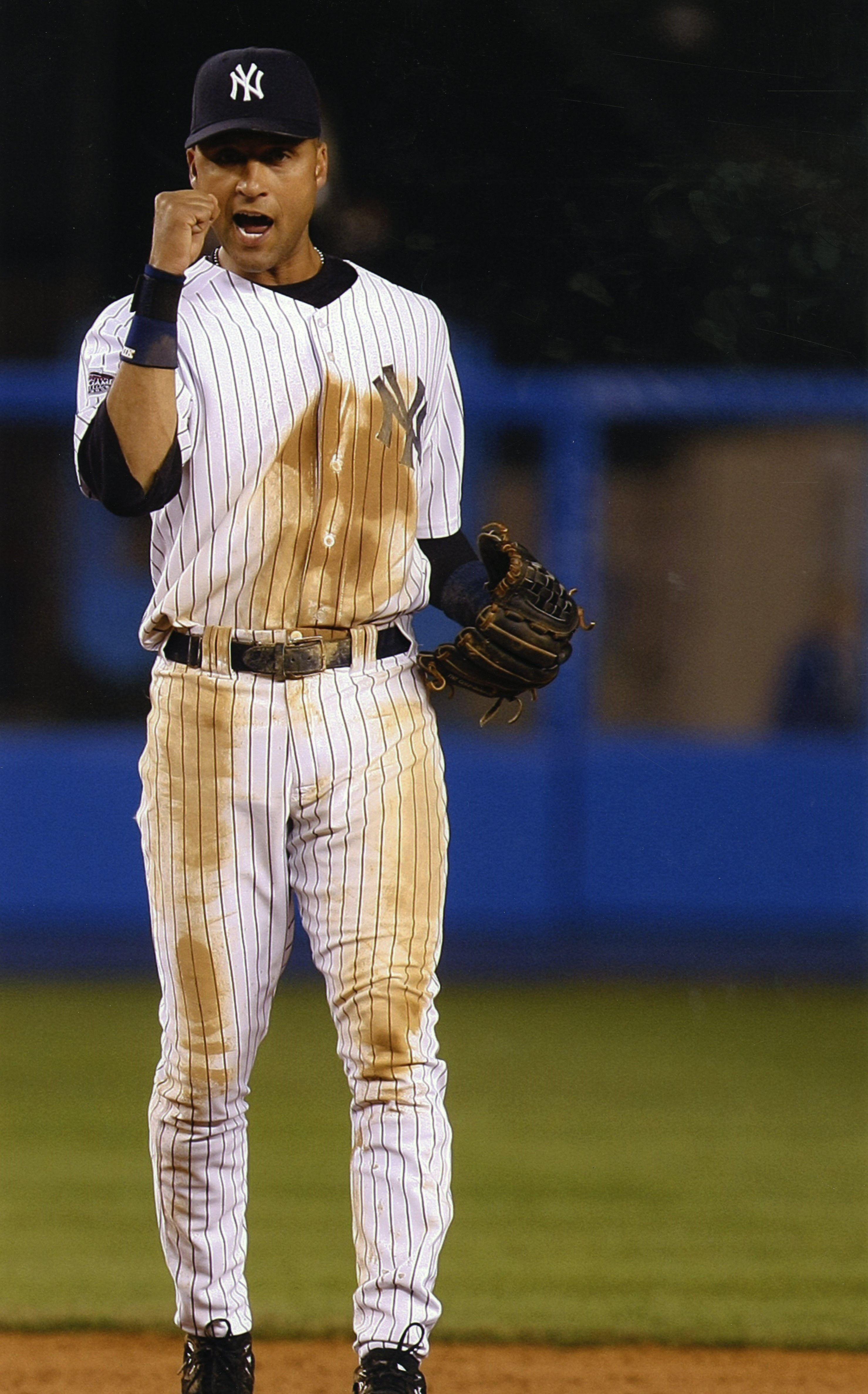 Lot Detail 2008 Derek Jeter Game Worn New York Yankees