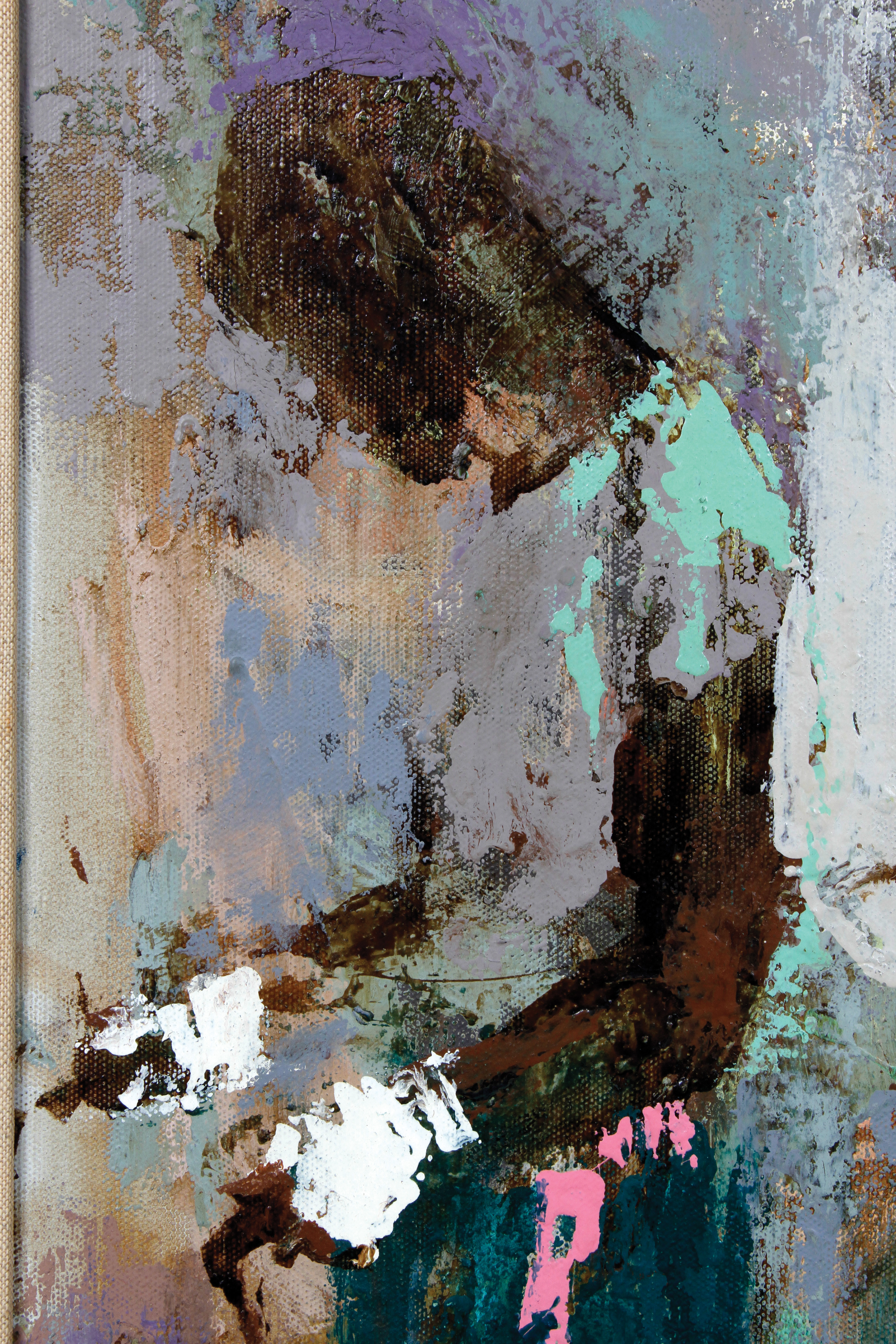 Lot Detail 1960 Leroy Neiman The Middle Weight