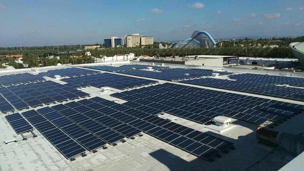 Anaheim Convention Center 2.4 MW Array