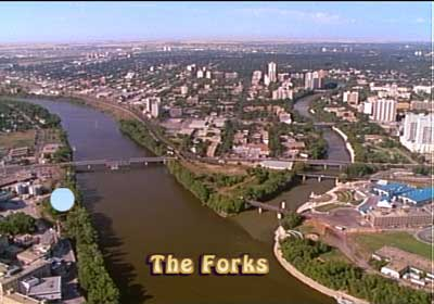 Winnipeg, the Forks - 1872