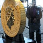 The 1,000 kg Gold Kangaroo is the largest gold coin ever minted