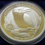 Australian Kookaburra coins