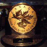 The special issue $1 million Canadian Gold Maple Leaf