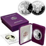 All American Silver Eagle bullion comes in the same size