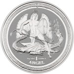 Isle of Man Silver Angel